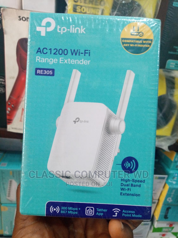 Archive: Tp Link Wifi Range Extender AC1200 RE305