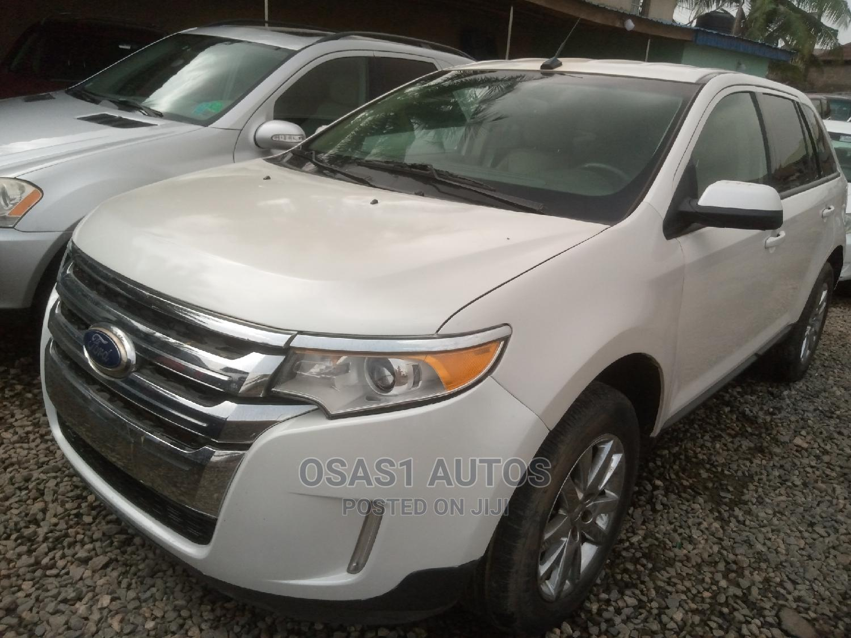 Ford Edge 2014 White | Cars for sale in Ojodu, Lagos State, Nigeria