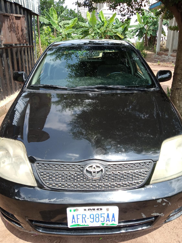 Toyota Corolla 2005 LE Black   Cars for sale in Umuahia, Abia State, Nigeria