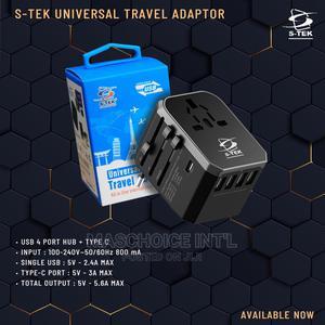 S-Tek Universal Travel Adapter | Computer Hardware for sale in Lagos State, Ikeja