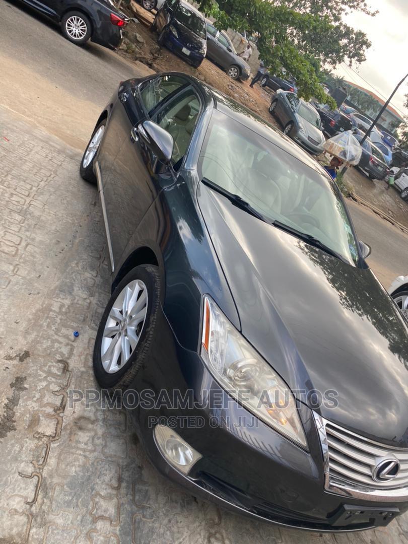 Lexus ES 2010 350 Black | Cars for sale in Surulere, Lagos State, Nigeria