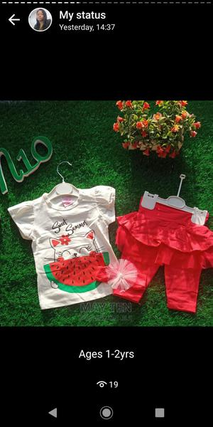 Quality Girls Top and Pant | Children's Clothing for sale in Oyo State, Oluyole