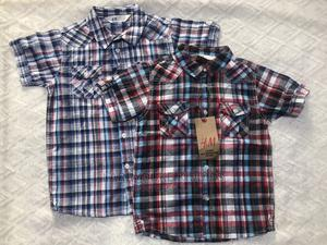 Boys H M Cotton Shirts | Children's Clothing for sale in Lagos State, Agboyi/Ketu