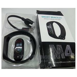 Bluetooth Smart Wrist Watch M4 Sports Android iPhone   Smart Watches & Trackers for sale in Lagos State, Ikeja