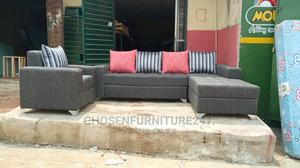 L Shape Sofa Chair. | Furniture for sale in Lagos State, Ikeja