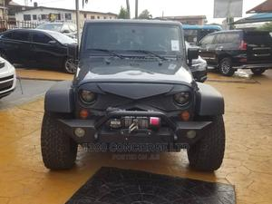 Jeep Wrangler 2013 Unlimited Sport Gray   Cars for sale in Lagos State, Victoria Island