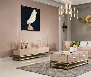 Latest Console Tv Cabinet With Center Table | Furniture for sale in Lagos State, Ojo