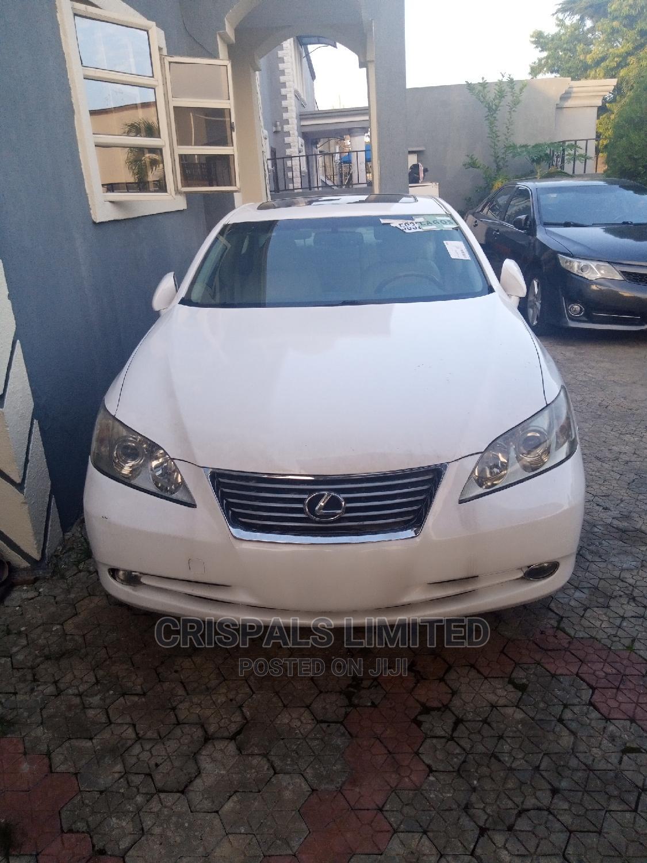 Lexus ES 2009 350 White | Cars for sale in Ajah, Lagos State, Nigeria