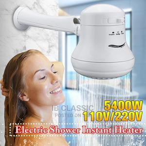 110v/220v Outdoor Tankless Instant Water Heater Shower Head | Plumbing & Water Supply for sale in Lagos State, Surulere