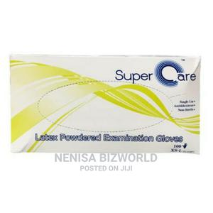 Supercare High Quality Latex Examination Gloves - 100 Pcs | Medical Supplies & Equipment for sale in Lagos State, Kosofe