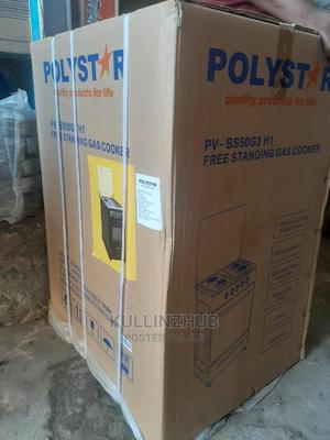 Polystar 3 Bunner Gas Cooker,Hot Plate,Auto Ignition Oven | Kitchen Appliances for sale in Lagos State, Ojo