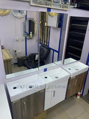 Mini Cabinet Basin With Mirror | Furniture for sale in Lagos State, Orile