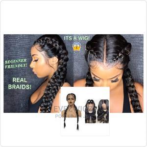 Human Hair Dutch Princess Cornrow Braid Wig | Hair Beauty for sale in Lagos State, Surulere