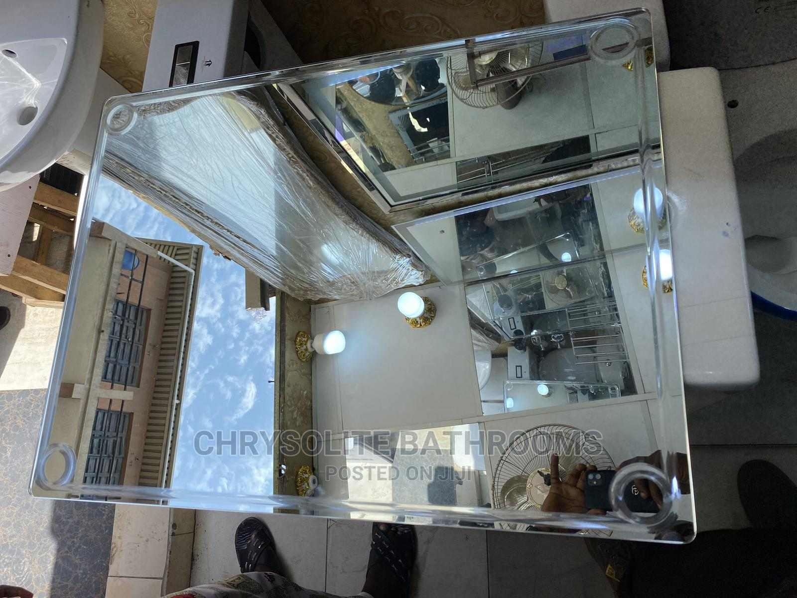 Plain Bathroom Mirror   Home Accessories for sale in Orile, Lagos State, Nigeria
