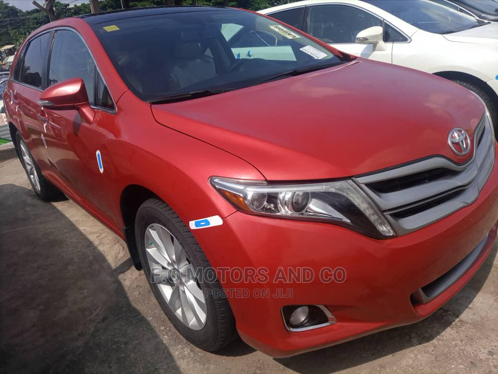 Archive: Toyota Venza 2013 Red