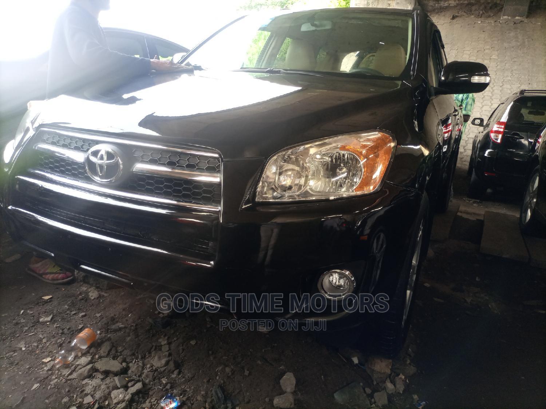 Toyota RAV4 2011 2.5 4x4 Black | Cars for sale in Apapa, Lagos State, Nigeria