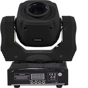 Moving Head Light LED Spot 60W Lighting 8 Colors And 8 Gobos | Stage Lighting & Effects for sale in Lagos State, Ikeja
