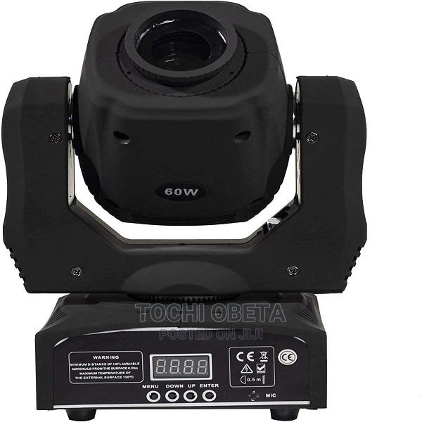 Moving Head Light LED Spot 60W Lighting 8 Colors And 8 Gobos