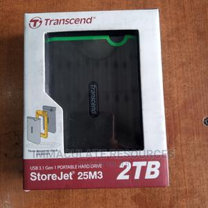 2TB Transcend External Hard Drive | Computer Hardware for sale in Rivers State, Port-Harcourt