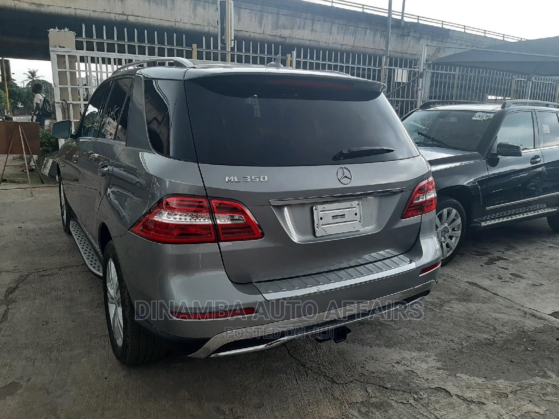 Mercedes-Benz M Class 2014 Gray