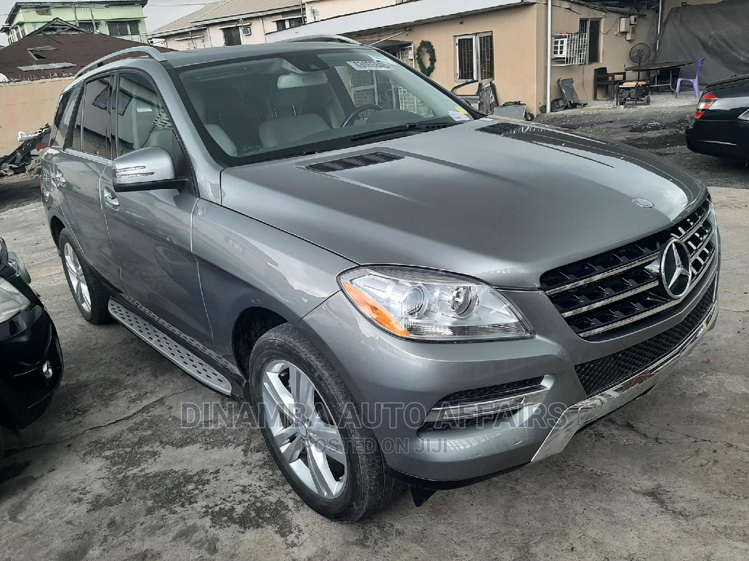 Mercedes-Benz M Class 2014 Gray | Cars for sale in Surulere, Lagos State, Nigeria