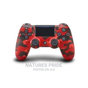 Sony Dualshock 4 Wireless Controller for Playstation 4 - Red   Video Game Consoles for sale in Lagos State, Ogba