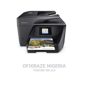 HP Officejet Pro 6968 All-In-One Wireless Printer   Printers & Scanners for sale in Lagos State, Lagos Island (Eko)