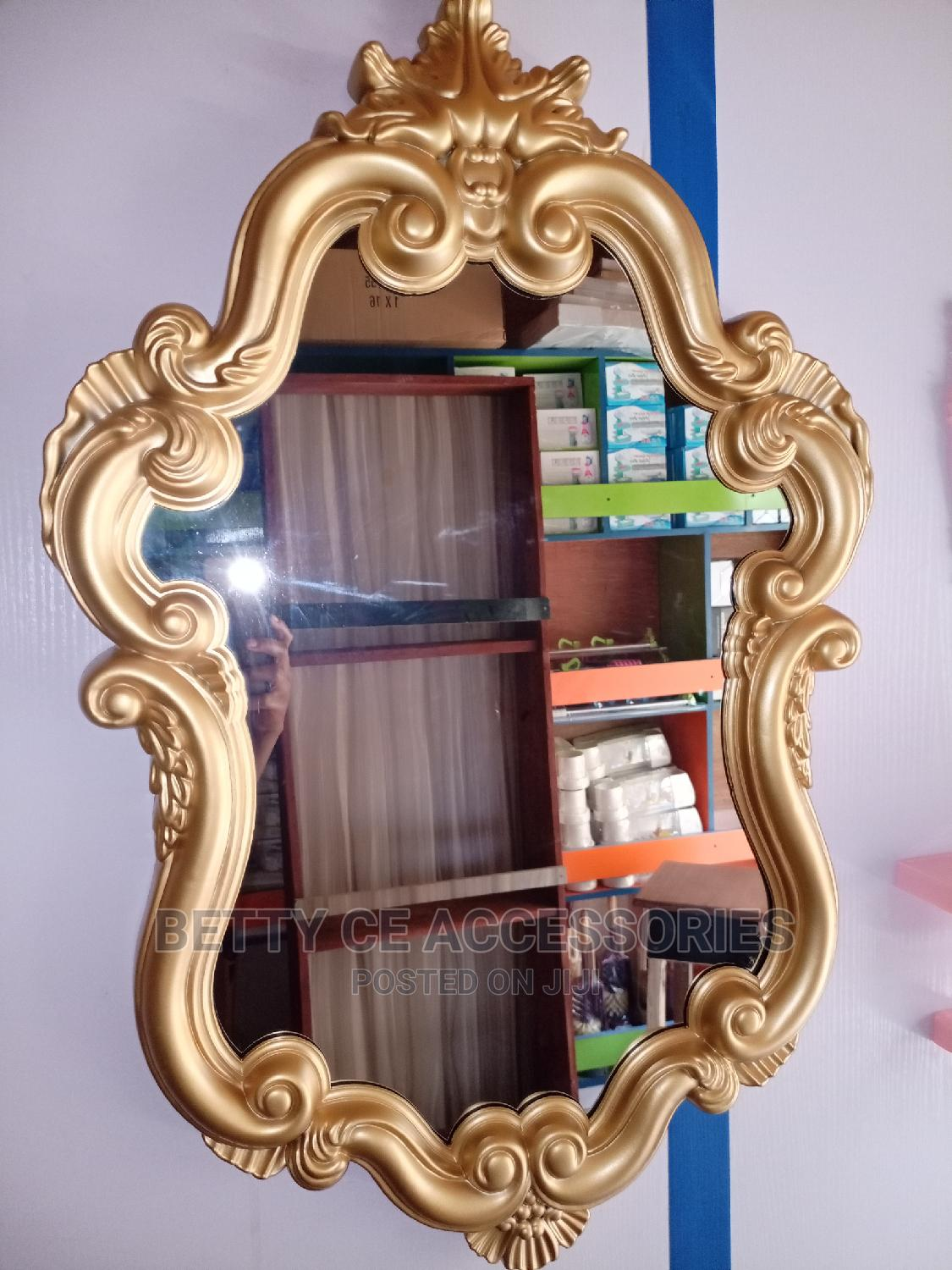 Archive: Design Quality Gold Mirror