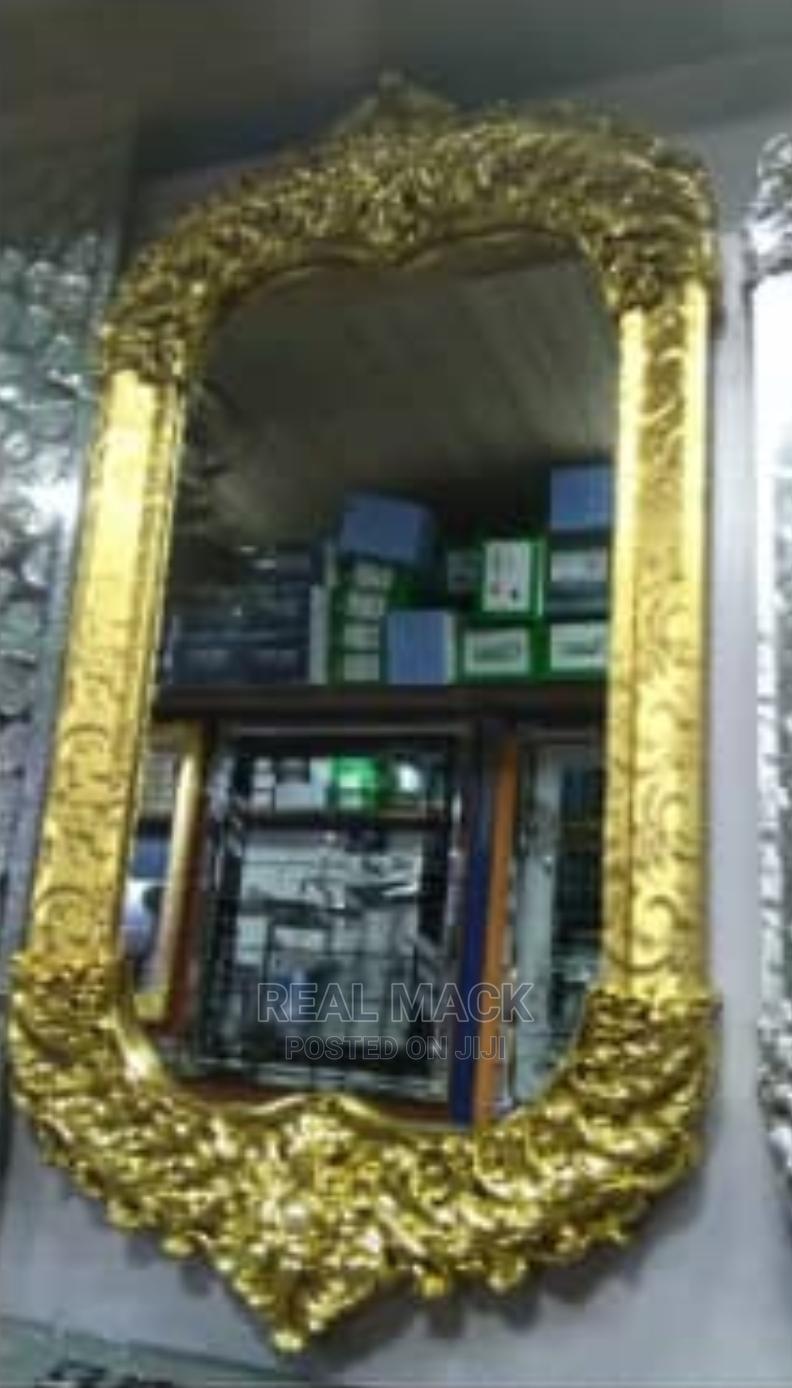 Gold Mirror | Home Accessories for sale in Orile, Lagos State, Nigeria