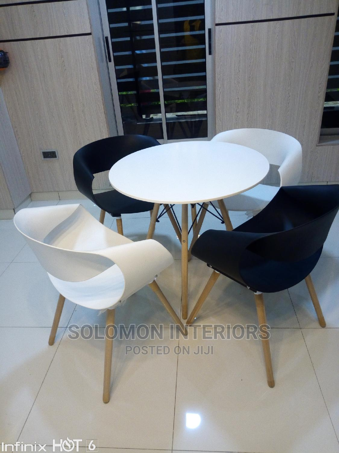 Executive Officer and Restaurant Chairs and Table
