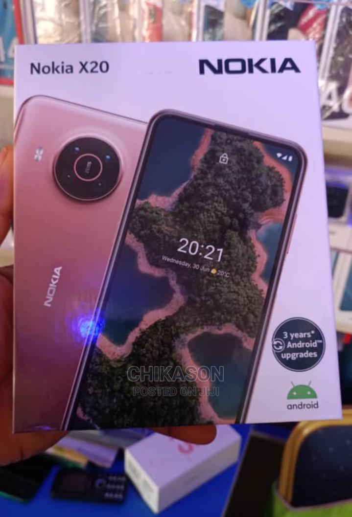Archive: New Nokia X20 128 GB Black