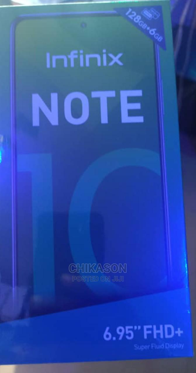 Archive: New Infinix Note 10 128 GB Gray