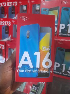 New Itel A16 Plus 8 GB Green | Mobile Phones for sale in Lagos State, Ikeja