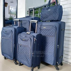 Star Express Carryon Blue Luggage 5 Set for Sale in Ikeja | Bags for sale in Lagos State, Ikeja