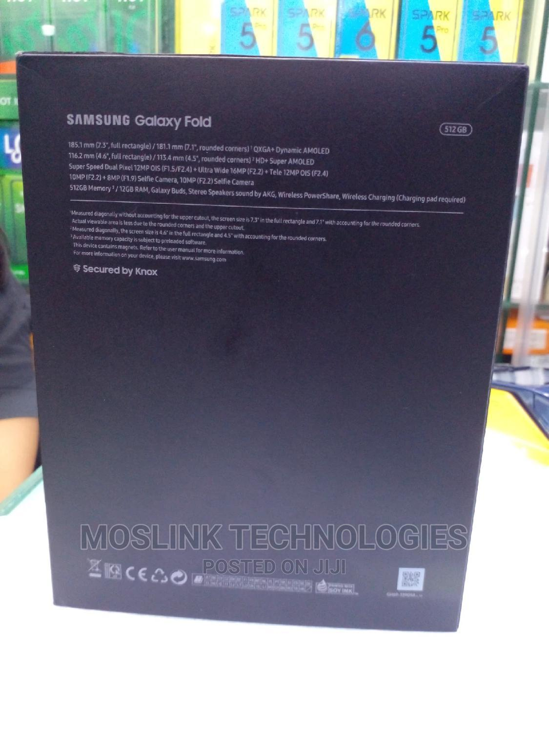 New Samsung Galaxy Fold 5G 512GB Black | Mobile Phones for sale in Ikeja, Lagos State, Nigeria