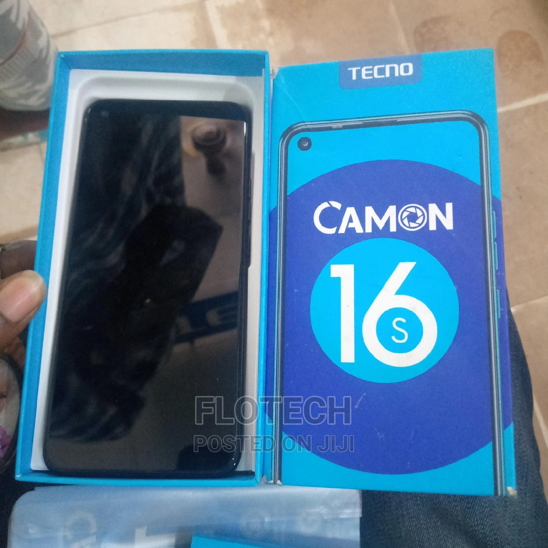 Tecno Camon 16S 128 GB Green | Mobile Phones for sale in Ado Ekiti, Ekiti State, Nigeria