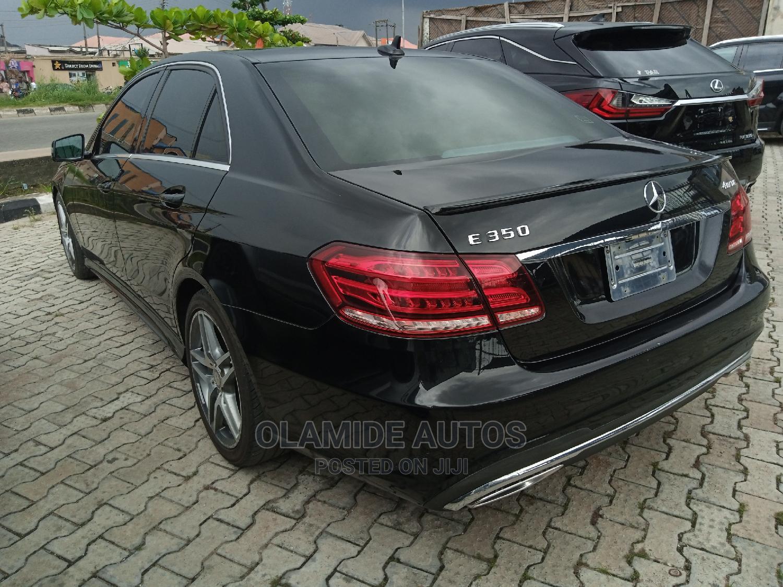 Mercedes-Benz E350 2015 Black   Cars for sale in Amuwo-Odofin, Lagos State, Nigeria