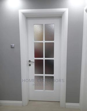 Turkish Hardwood Glass Door   Doors for sale in Abuja (FCT) State, Wuse 2