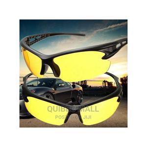 Night Vision Sunglasses - Yellow Lens | Clothing Accessories for sale in Lagos State, Agboyi/Ketu