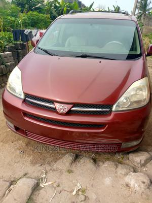 Toyota Sienna 2005 XLE AWD Red   Cars for sale in Rivers State, Oyigbo