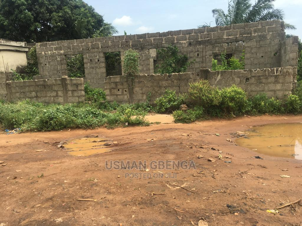 Archive: Land With Uncompleted Building For Sale