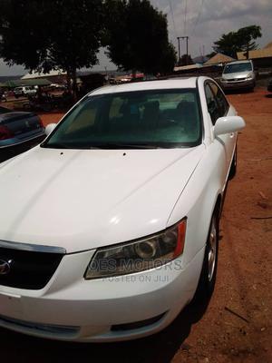 Hyundai Sonata 2008 3.3 V6 GLS Automatic White   Cars for sale in Abuja (FCT) State, Kurudu