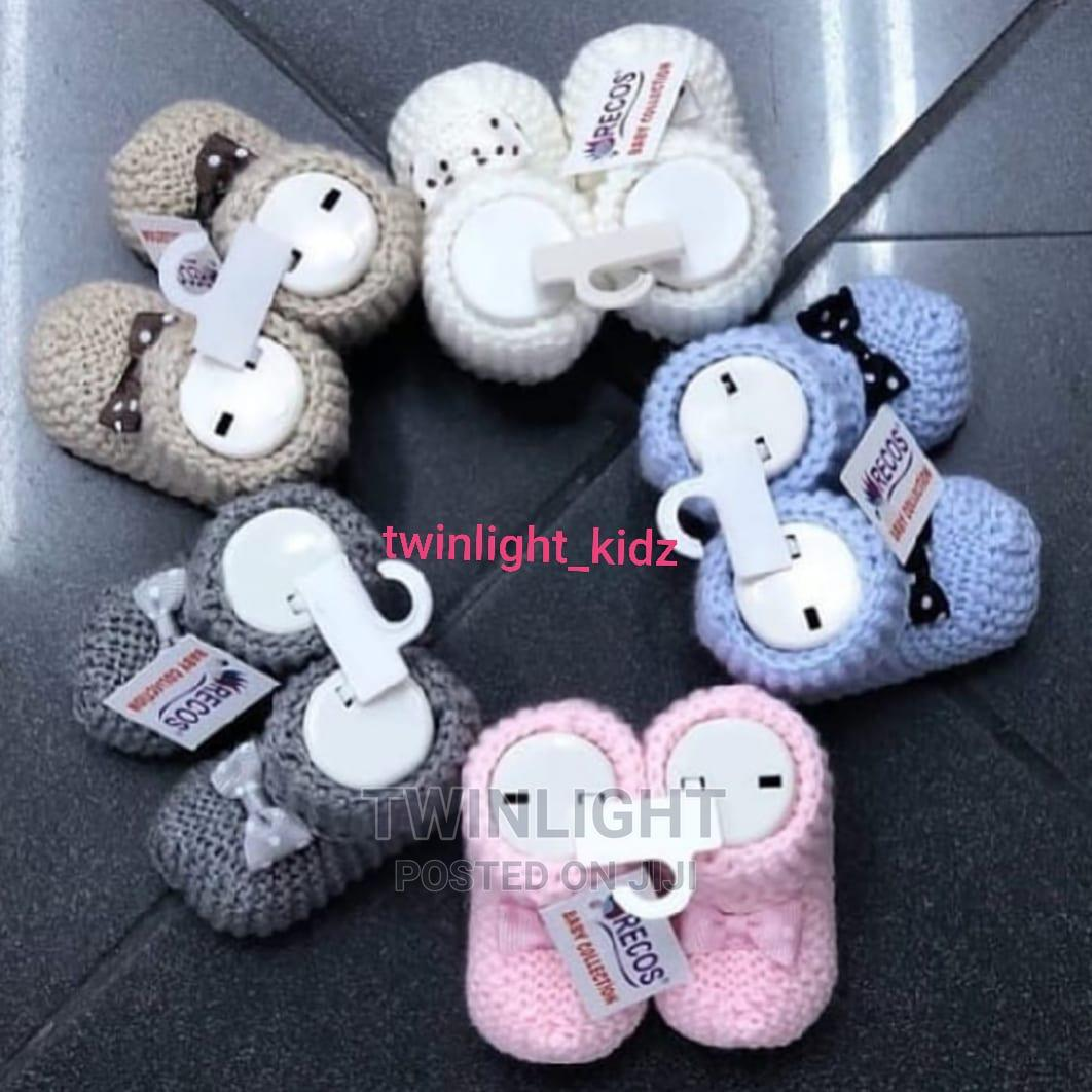 Archive: Baby Knitted Booties