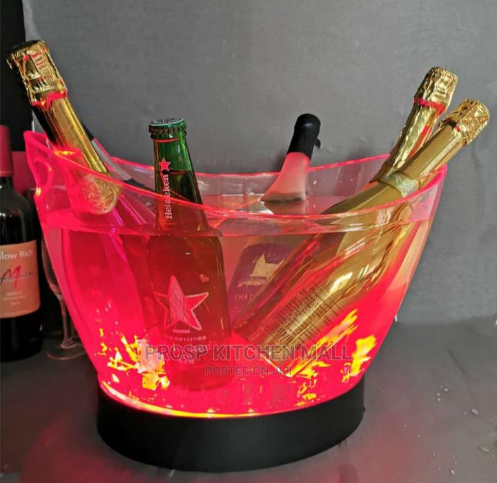 Archive: Champagne Bucket With Led