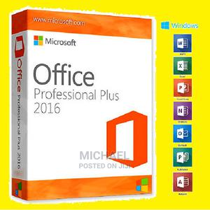 Genuine Microsoft Office PRO Plus 2016 (Best Deal) | Software for sale in Lagos State, Ikeja
