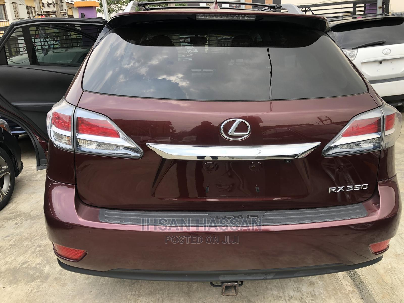 Archive: Lexus RX 2014 350 AWD Red