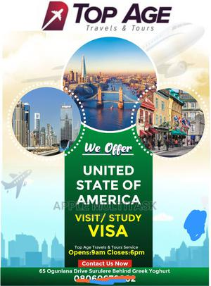 Sure USA Visit And Study Visa | Travel Agents & Tours for sale in Lagos State, Surulere