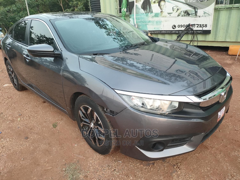 Honda Civic 2017 Green   Cars for sale in Katampe, Abuja (FCT) State, Nigeria