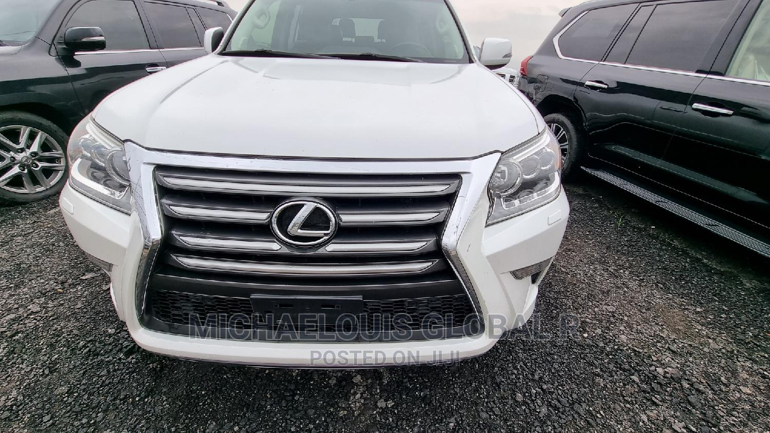 Lexus GX 2016 460 Luxury White | Cars for sale in Port-Harcourt, Rivers State, Nigeria