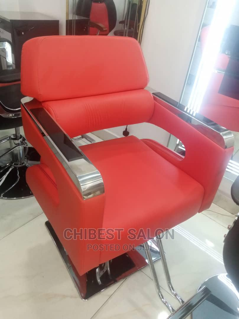 Leather Stylist Chair